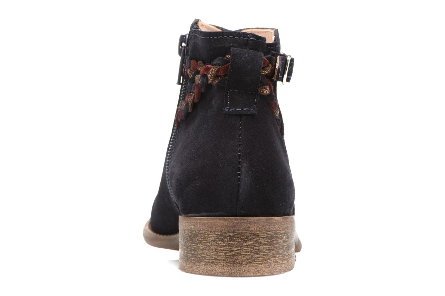 Ankle boots Yep Pietra Blue view from the right