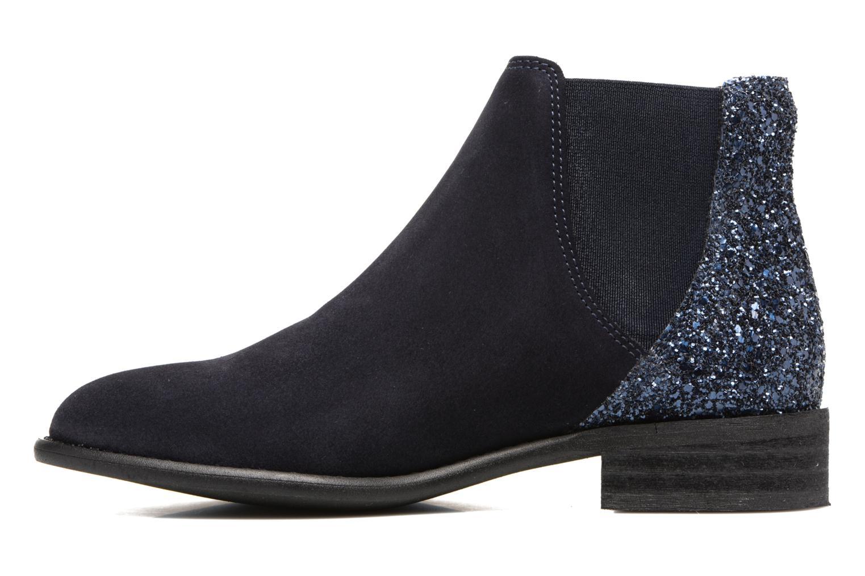 Bottines et boots Yep Rachelle Bleu vue face