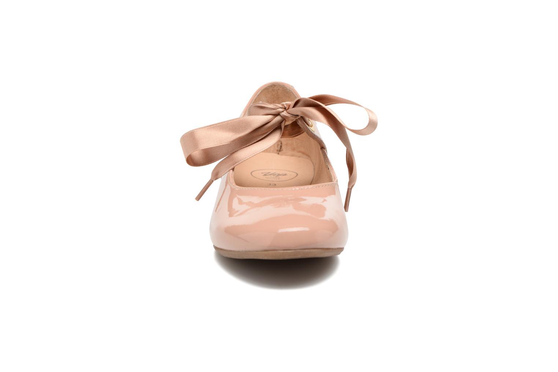 Ballerines Yep Oriane Rose vue portées chaussures