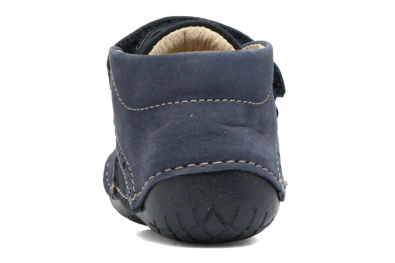 Bottines et boots Primigi Andrea Bleu vue droite