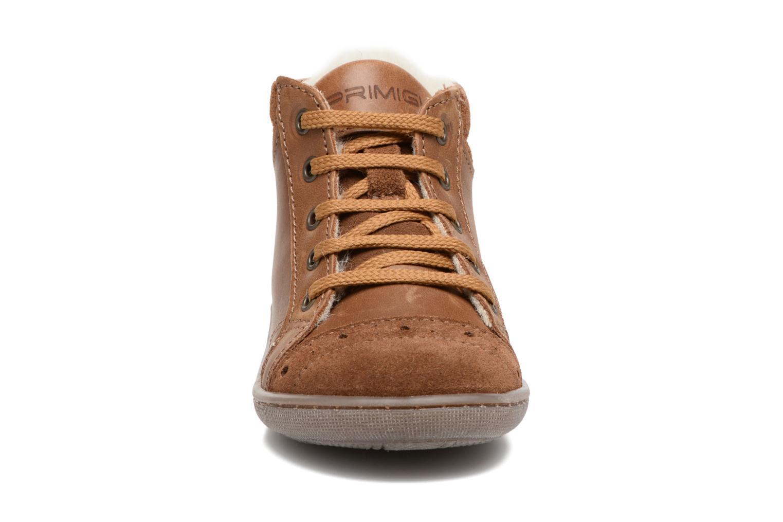 Baskets Primigi Ambra Marron vue portées chaussures