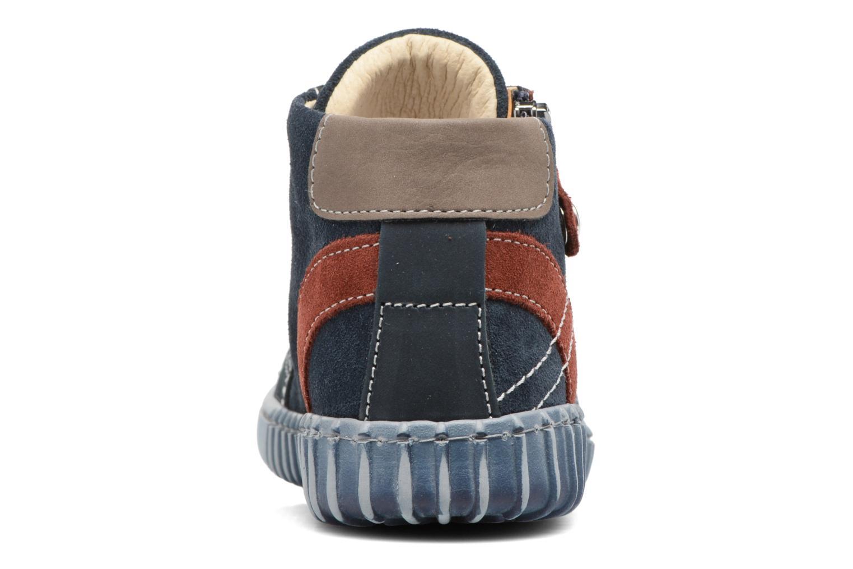 Bottines et boots Primigi Vico Bleu vue droite
