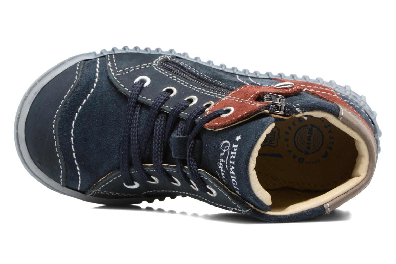 Bottines et boots Primigi Vico Bleu vue gauche