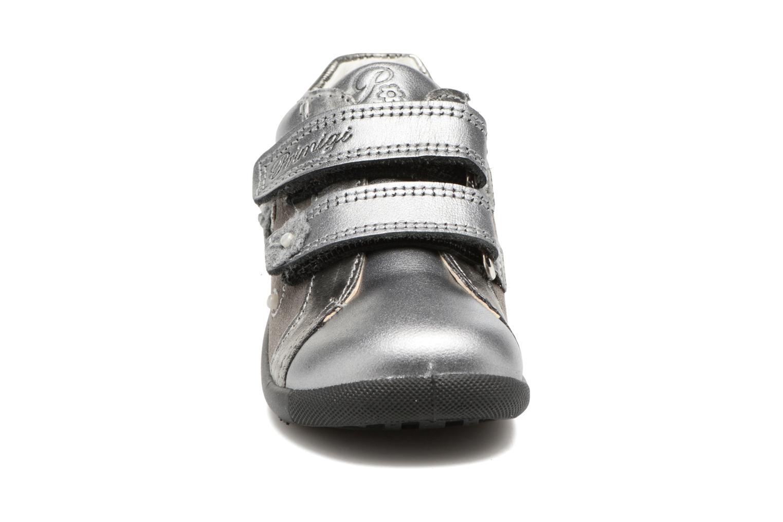 Chaussures à scratch Primigi Gabelica Argent vue portées chaussures