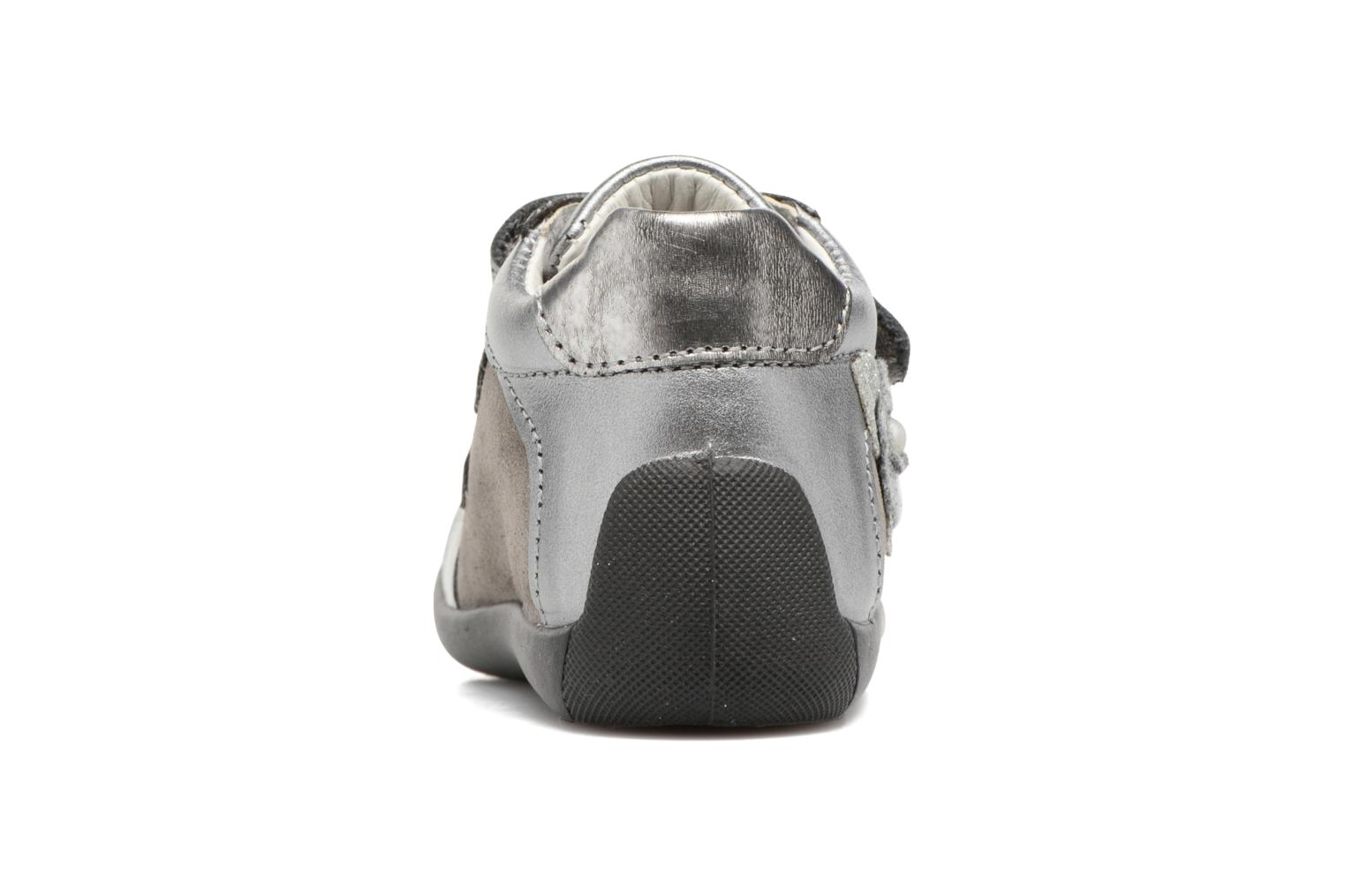 Velcro shoes Primigi Gabelica Silver view from the right