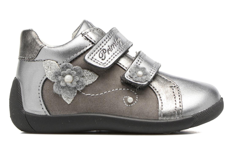 Velcro shoes Primigi Gabelica Silver back view