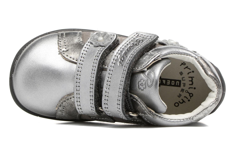 Chaussures à scratch Primigi Gabelica Argent vue gauche