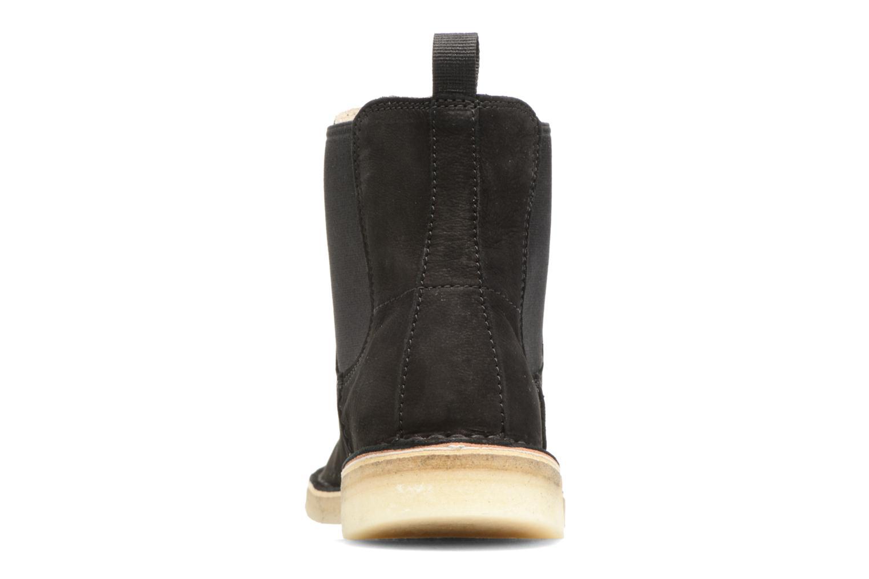 Boots en enkellaarsjes Clarks Originals DESERT PEAK W Zwart rechts