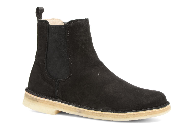 Bottines et boots Clarks Originals DESERT PEAK W Noir vue détail/paire
