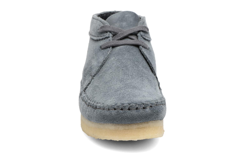 Stiefeletten & Boots Clarks Originals WEAVER BOOT W blau schuhe getragen