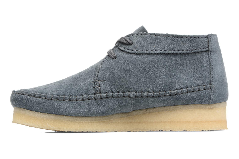 Stiefeletten & Boots Clarks Originals WEAVER BOOT W blau ansicht von vorne