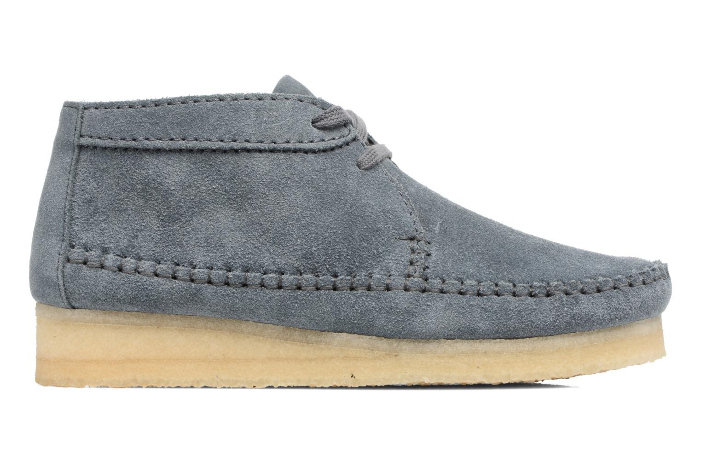 Stiefeletten & Boots Clarks Originals WEAVER BOOT W blau ansicht von hinten