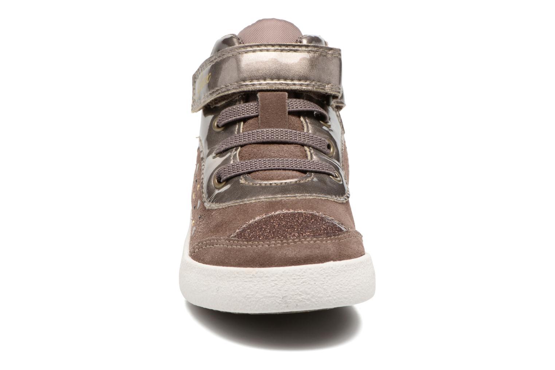Baskets Geox B Kiwi G. A B74D5A Gris vue portées chaussures
