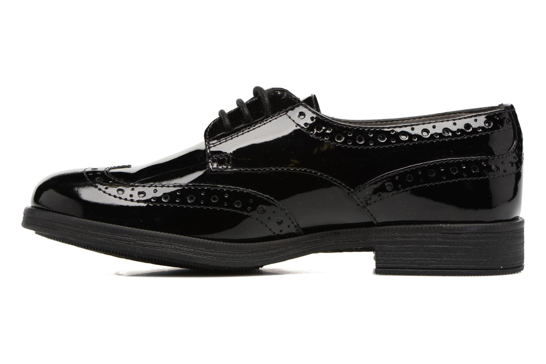 Chaussures à lacets Geox J Agata C J3449C Noir vue face