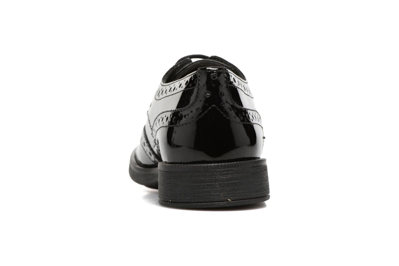 Chaussures à lacets Geox J Agata C J3449C Noir vue droite