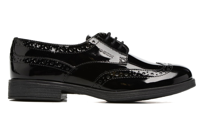 Chaussures à lacets Geox J Agata C J3449C Noir vue derrière