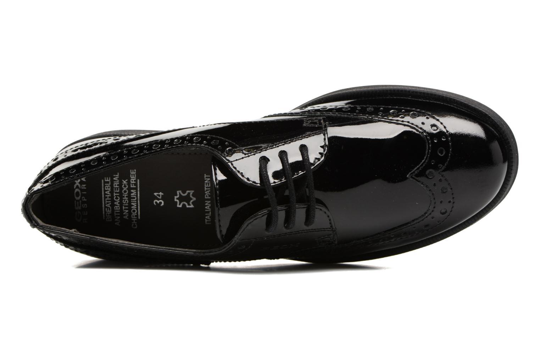 Chaussures à lacets Geox J Agata C J3449C Noir vue gauche