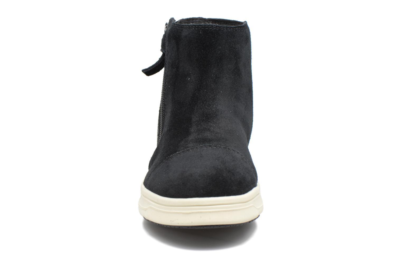 Bottines et boots Geox J Aveup G. B J741ZB Noir vue portées chaussures