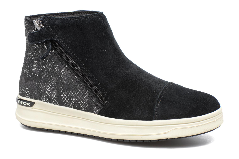 Bottines et boots Geox J Aveup G. B J741ZB Noir vue détail/paire