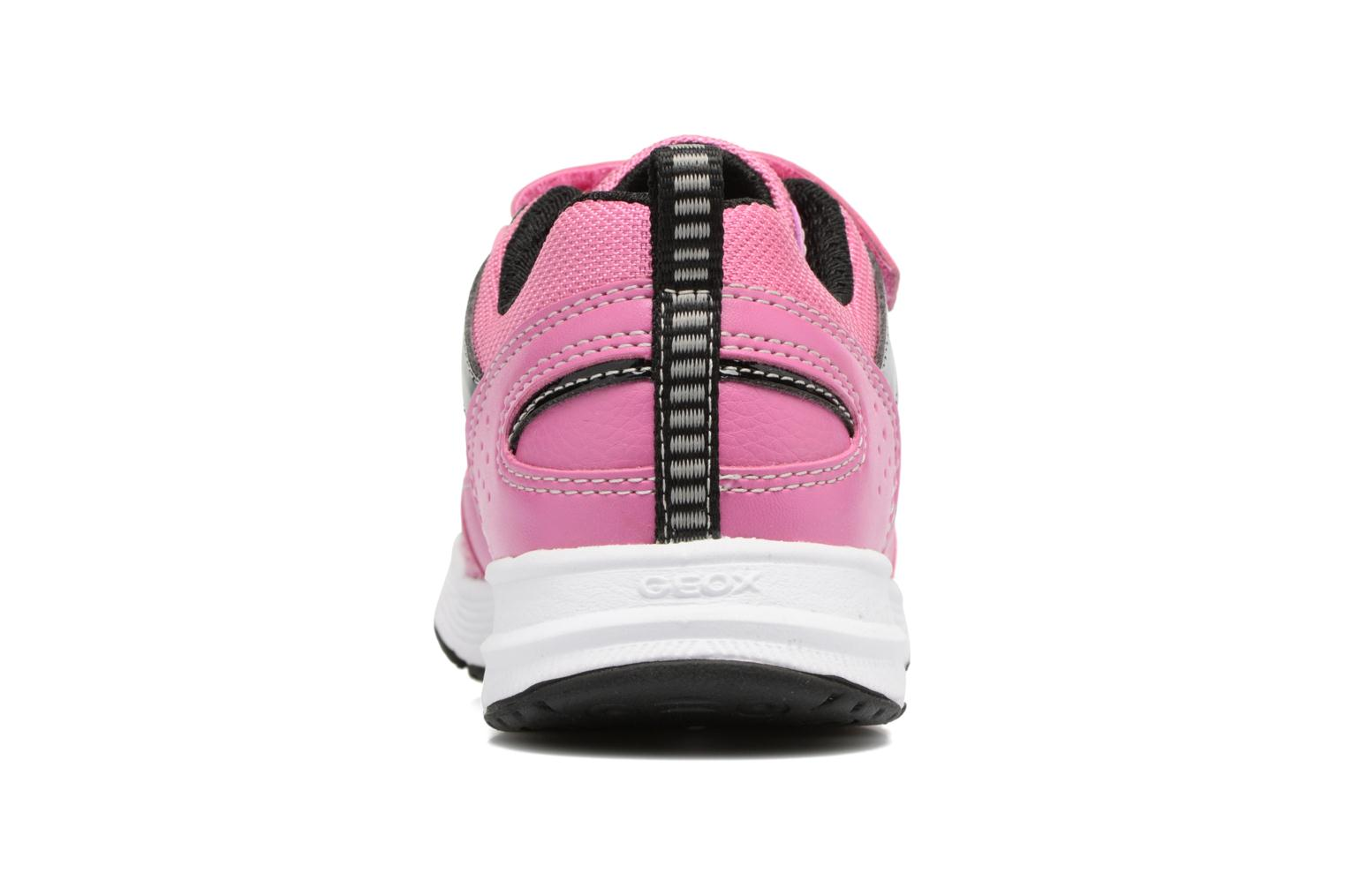 Baskets Geox J Top Fly G. A J7428A Rose vue droite
