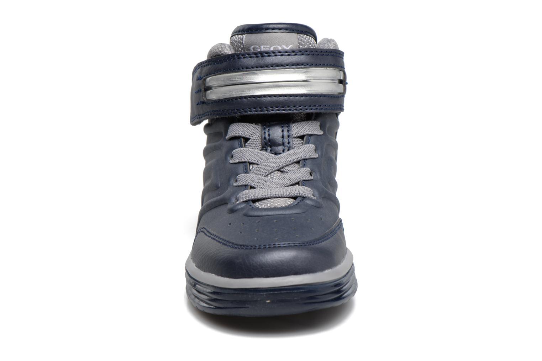Sneakers Geox J Argonat B. B J7429B Azzurro modello indossato