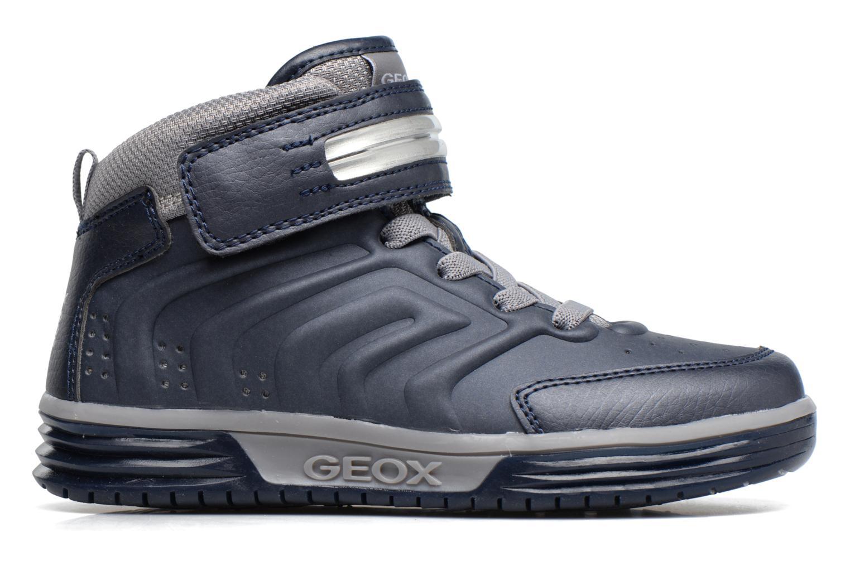 Baskets Geox J Argonat B. B J7429B Bleu vue derrière