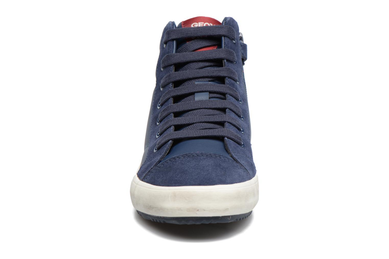 Baskets Geox J Alonisso B. A J742CA Bleu vue portées chaussures