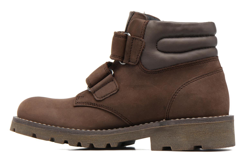Bottines et boots Geox J Axel B. Wpf C  J743DC Marron vue face