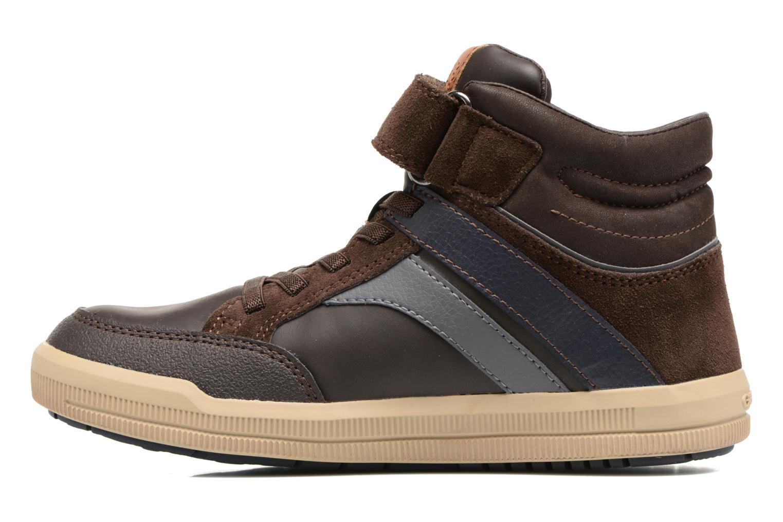 Sneakers Geox J Arzach B. C  J744AC Bruin voorkant