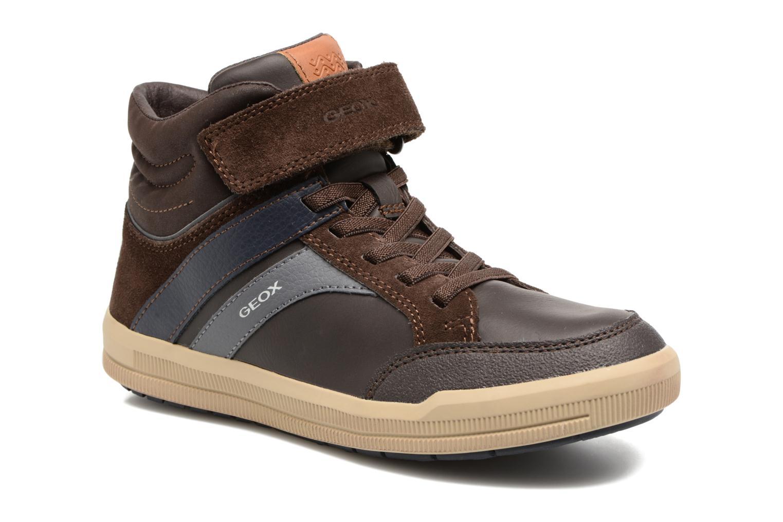 Sneakers Geox J Arzach B. C  J744AC Bruin detail