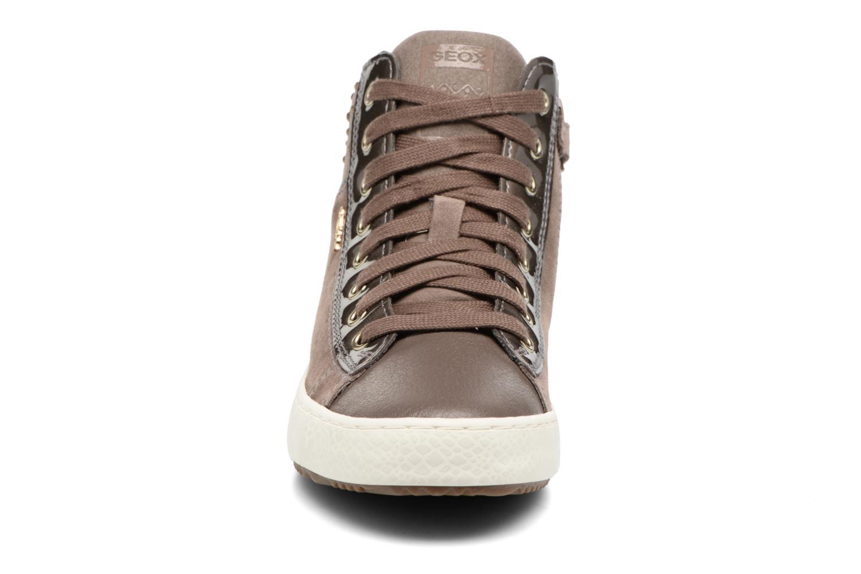 Baskets Geox J Kalispera G.E J744GE Beige vue portées chaussures