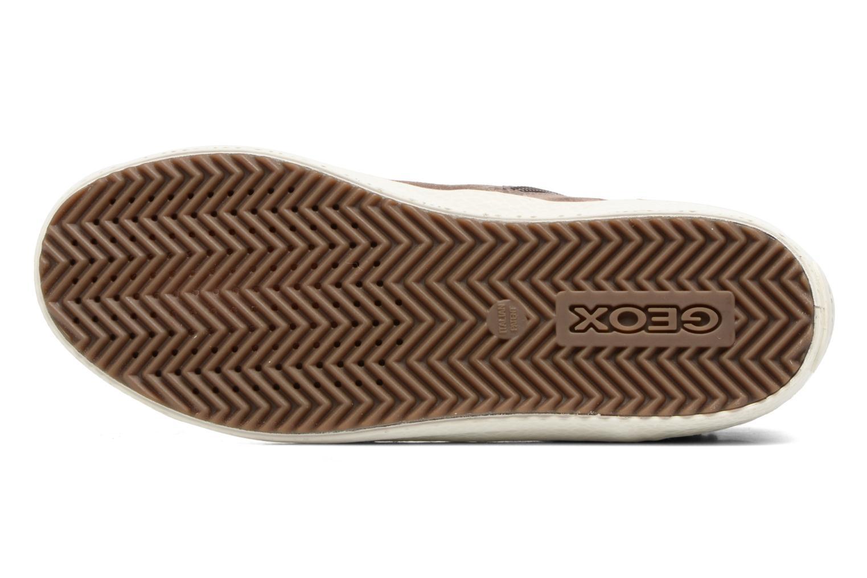Sneakers Geox J Kalispera G.E J744GE Beige boven