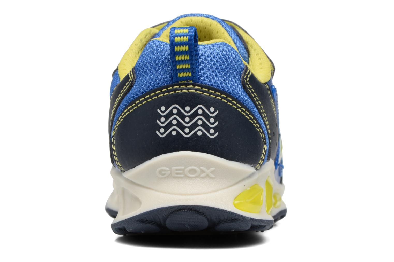 J Shuttle B. B J7494B Navy/Lime