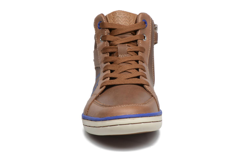 Baskets Geox J Garcia B. B  J74B6B Marron vue portées chaussures
