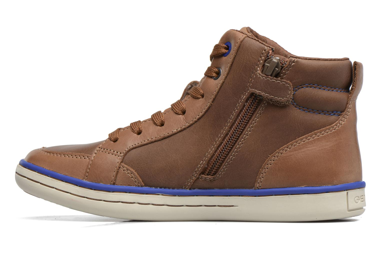 Sneakers Geox J Garcia B. B  J74B6B Bruin voorkant