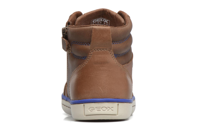 Sneakers Geox J Garcia B. B  J74B6B Bruin rechts