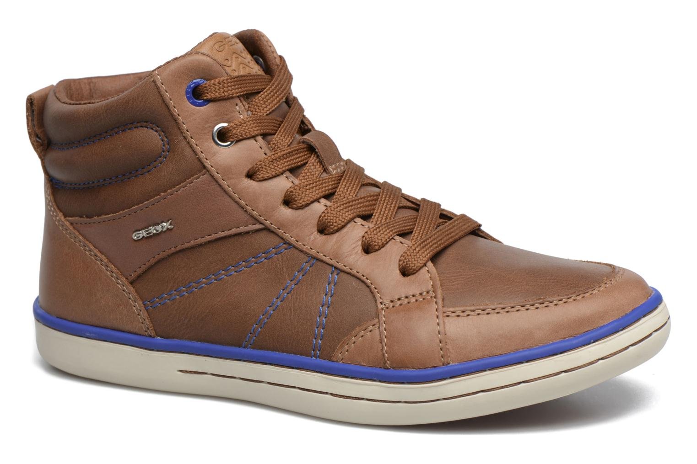 Sneakers Geox J Garcia B. B  J74B6B Bruin detail