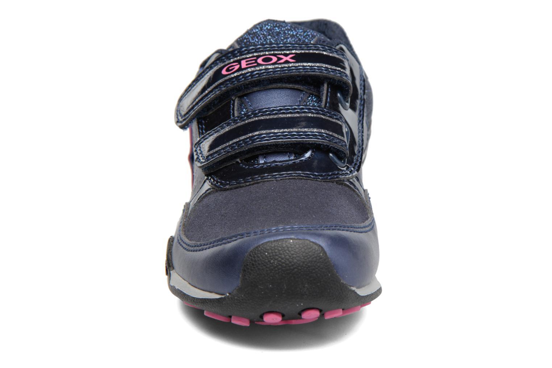 Baskets Geox J N.Jocker G.A J74G2A Bleu vue portées chaussures