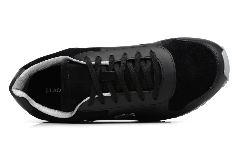 Sneakers Lacoste TRAJET 417 3 Zwart links