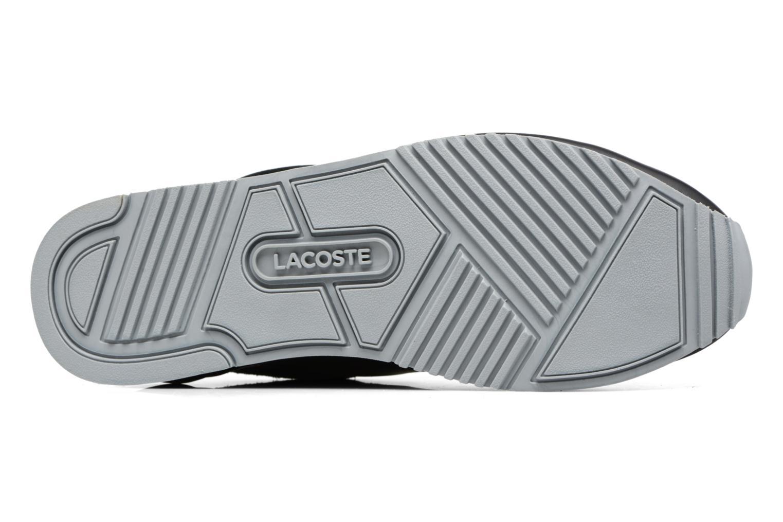 Sneaker Lacoste TRAJET 417 3 schwarz ansicht von oben
