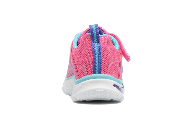 Sneakers Skechers Litebeams Colorburst Rosa Bild från höger sidan