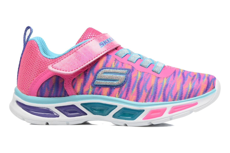 Sneakers Skechers Litebeams Colorburst Rosa bild från baksidan