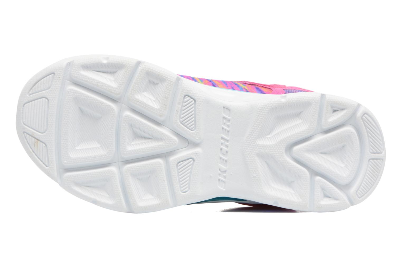 Sneakers Skechers Litebeams Colorburst Rosa bild från ovan