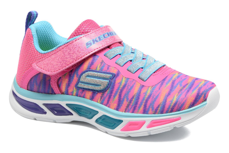Sneakers Skechers Litebeams Colorburst Rosa detaljerad bild på paret