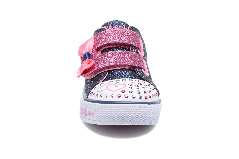 Shuffles Glitter Crush Denim/Rose
