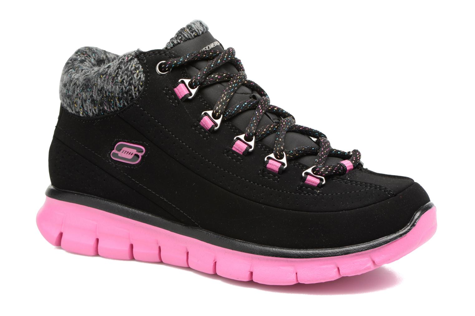 Bottines et boots Skechers Synergy Strong Will Noir vue détail/paire