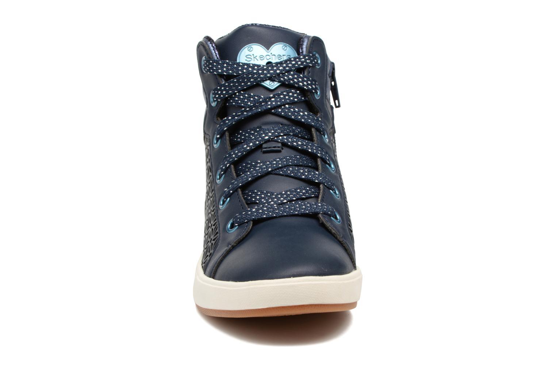 Baskets Skechers Shoutouts Bleu vue portées chaussures