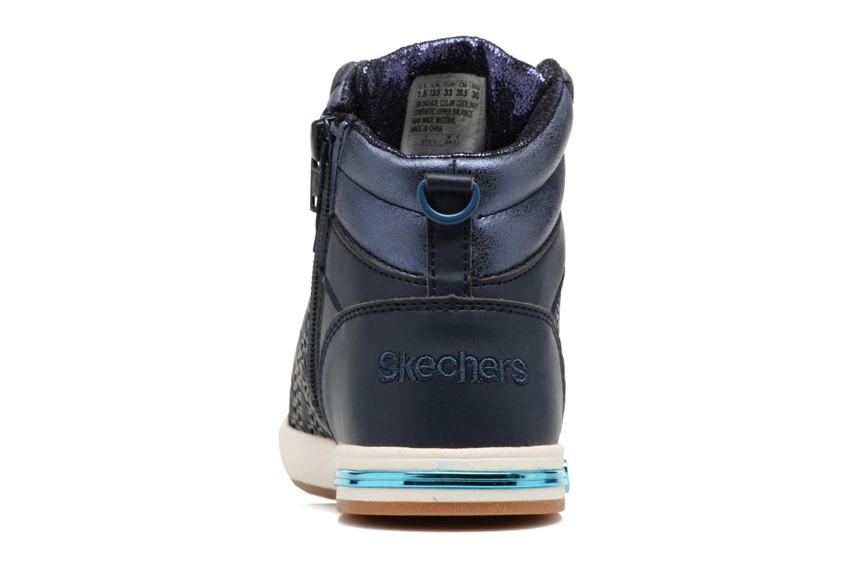 Baskets Skechers Shoutouts Bleu vue droite