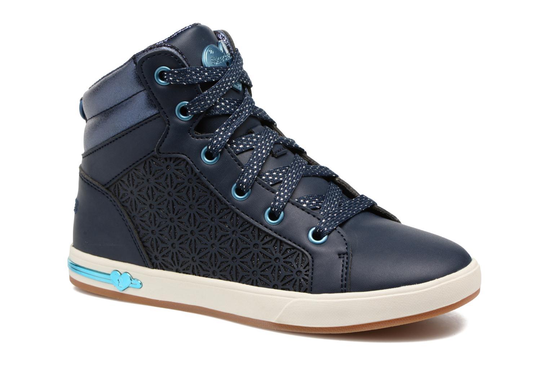 Baskets Skechers Shoutouts Bleu vue détail/paire