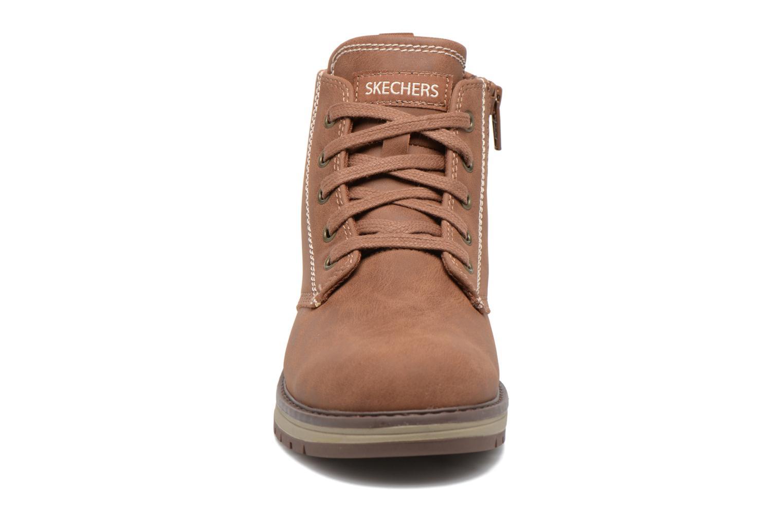 Bottines et boots Skechers Gravlen Marron vue portées chaussures